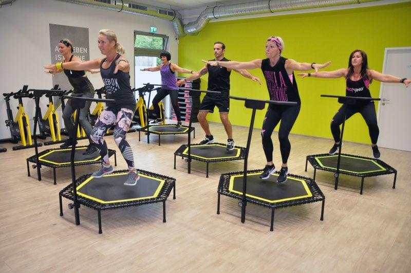 Fitnesscenter Waizenkirchen - Ihr Fitnesspartner in Waizenkrichen Österreich - Kurs - Fitness - Trampolin - Jump it