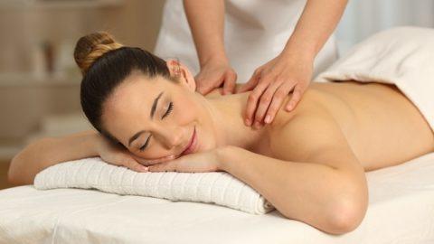 Massage mit Daniela