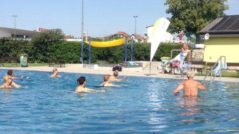 Aqua Fitness im Freibad